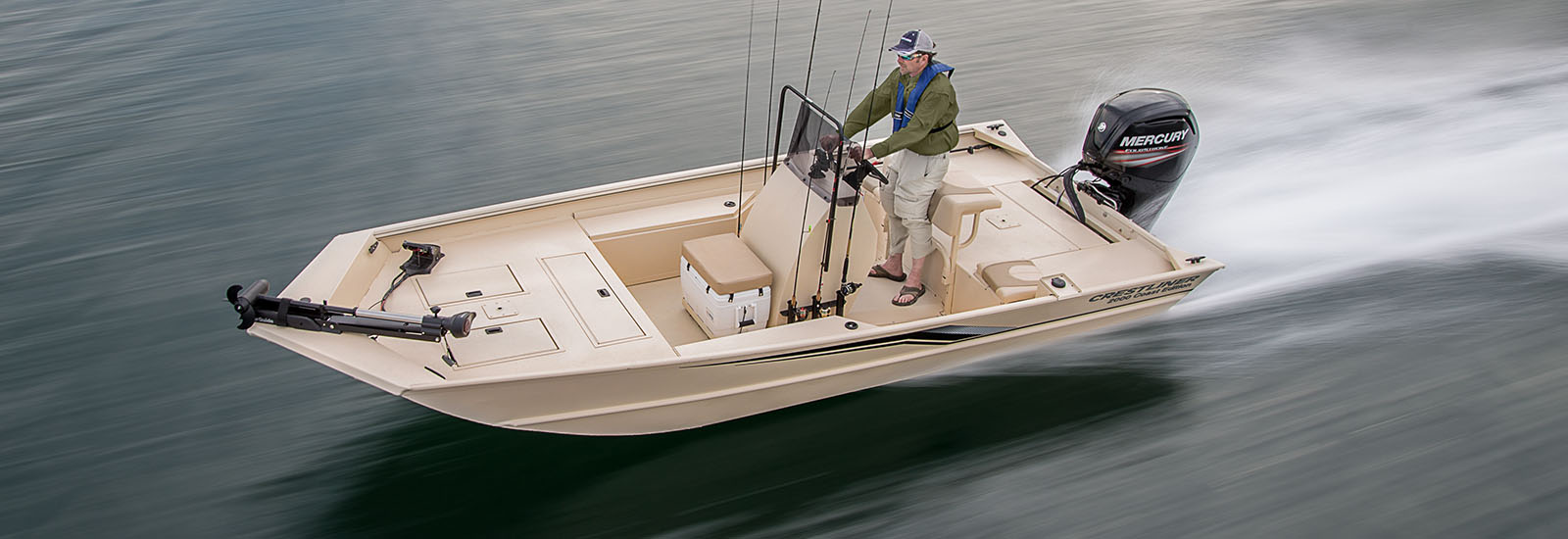 Center Console Aluminum Fishing Boats