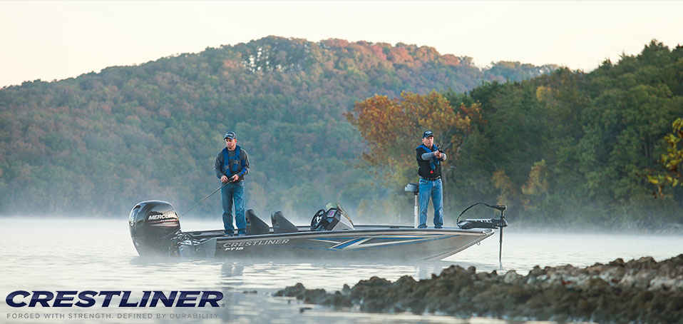 Crestliner Unveils New PT 18 Bass Boat at Bassmaster Classic Expo