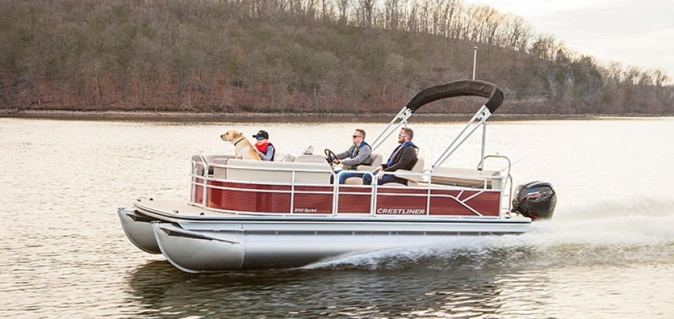 Crestliner Introduces New Sprint Pontoon