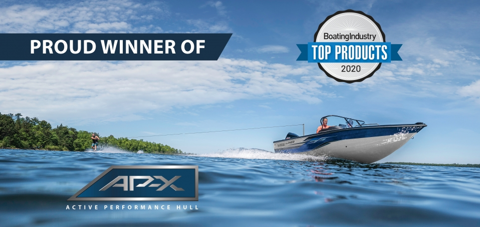 Crestliner wins Boating Industry Top Products Award for 2020