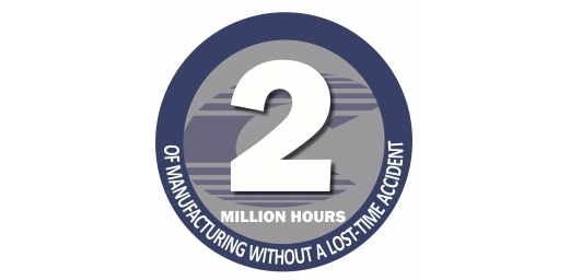 We Did It! 2 Million Hours of Manufacturing Without A Lost-Time Accident