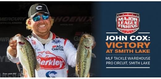 John Cox Wins on Smith Lake