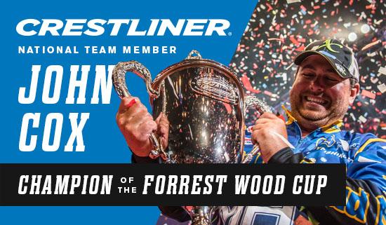 Crestliner Pro John Cox Nets FLW Forrest Wood Cup