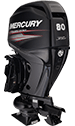 "Mercury Jet 80ELPT EFI Fourstroke (requires Jet modification or Jet modification w/27"" transom option)"