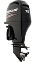 Mercury 75ELPT EFI FourStroke (requires Big Tiller Handle option)