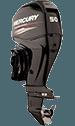 Mercury 50ELHPT Command Thrust w/Big Tiller Handle
