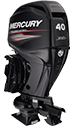 Mercury Jet 40ELPT EFI FourStroke (requires Jet modification option)