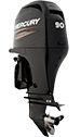 Mercury 90ELPT EFI FourStroke (3 tube)