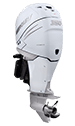 Mercury 350XL Verado White Pro FourStroke L6 (requires heavy duty hub kit)