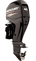 Mercury 40ELPT EFI FourStroke (includes Big Tiller handle)