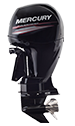 Mercury 150L Pro XS FourStroke (3 tube) (Requires Hydraulic Steering)