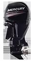 Mercury 150XL FourStroke (2 tube) (Requires Hydraulic Steering)