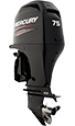 Mercury 75ELPT EFI FourStroke (w/o console option requires Big Tiller Handle option)
