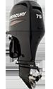 Mercury 75ELPT EFI FourStroke (includes Big Tiller handle)