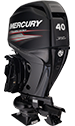 Mercury Jet 40ELPT EFI FourStroke (requires Jet modification & transom riser)