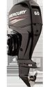 Mercury 60ELHPT (includes Advanced Tiller handle)