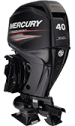 Mercury Jet 40ELPT EFI FourStroke (w/o console option requires Big Tiller Kit)