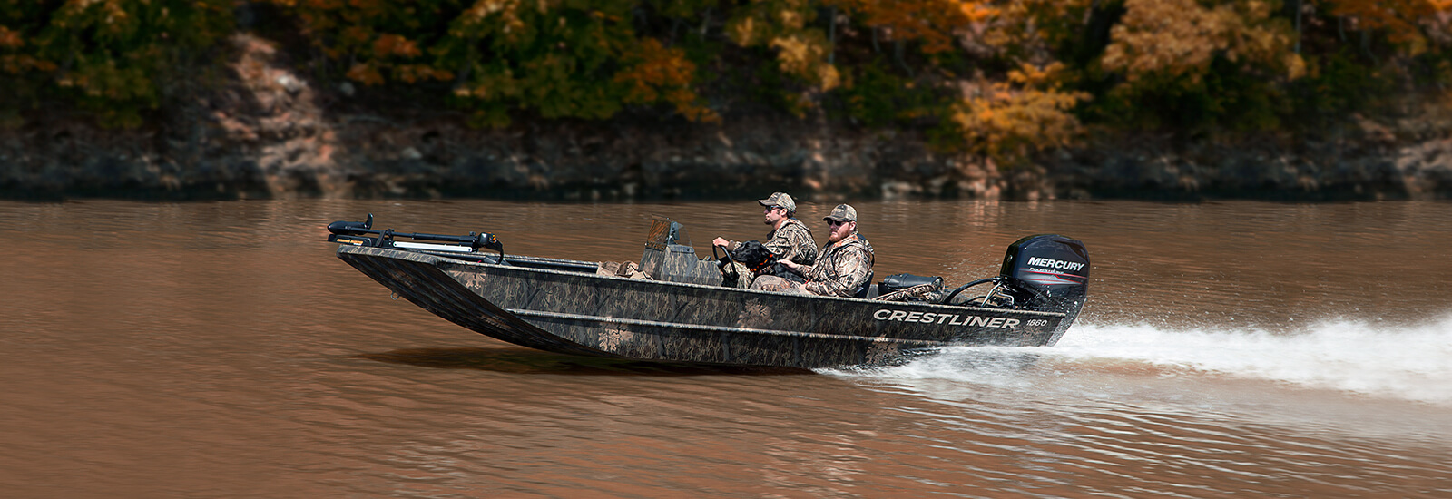 Crestliner 1860 Retriever SC/CC | Aluminum Duck Hunting Boats on
