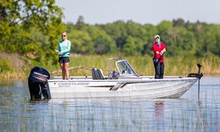 Crestliner Aluminum Fishing Boats | Pontoon, Bass, Ski & Jon