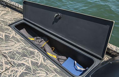 Bow Starboard Storage