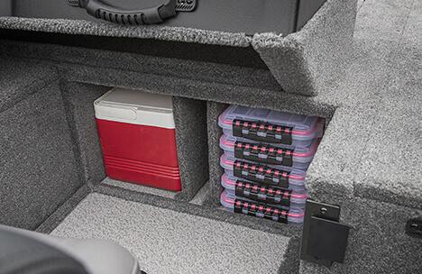 Port Under Console Storage