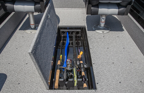 In-Floor Rod Storage