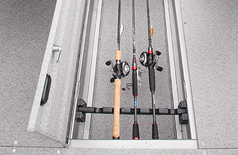 In-Floor Rod Locker