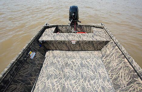 Crestliner 1660 Retriever Jon 16 Ft Flat Bottom Fishing