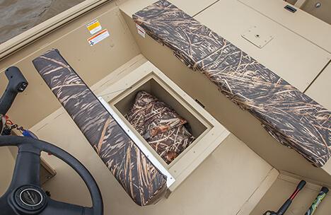 Seat Box with Cushion & Storage Below