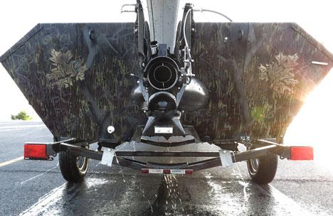 Jet Engine Tunnel Hull