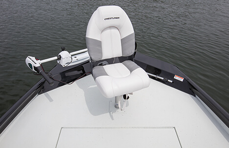 Bow Deck with Deluxe Fishing Seat