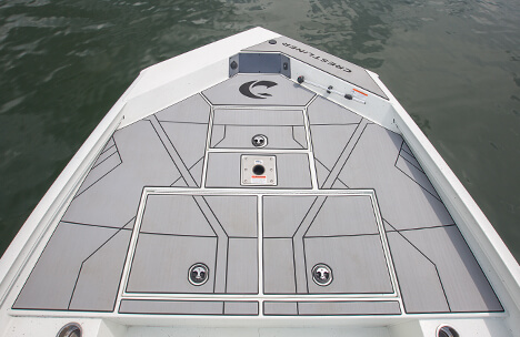 Bow Deck with Storage