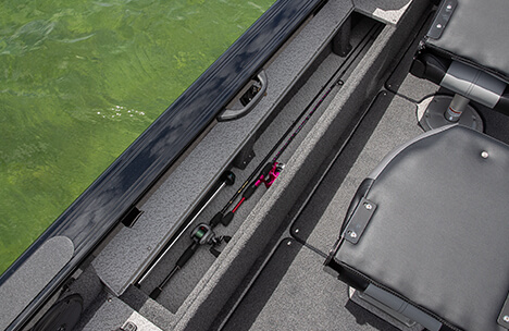 Lockable Port Rod Locker