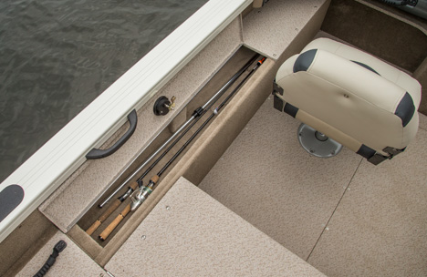 Lockable Port Rod Locker