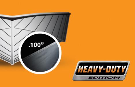 Heavy-Duty Aluminum Hull