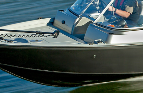 All-Welded Aluminum Hull