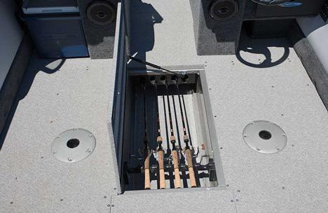 In-Floor Storage