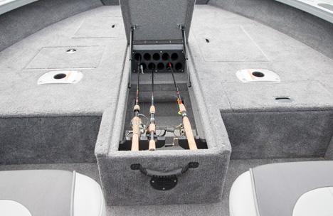 High Capacity Center Rod Locker