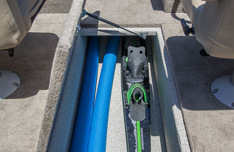 In-Floor Rod/Ski Storage