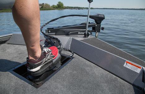 Ergonomic Recessed Foot Pedal
