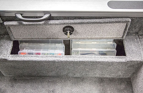 Starboard Storage Compartment