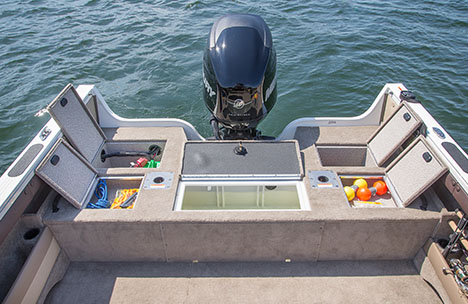 14-Gallon Stern Livewell
