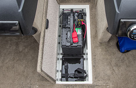 In-Floor Battery Storage