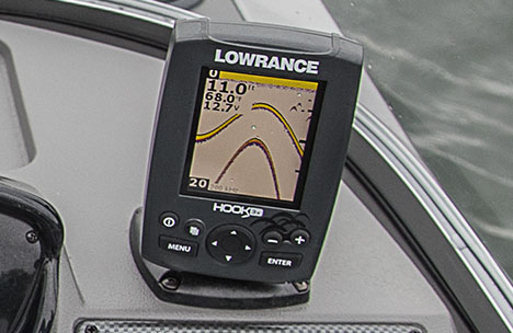 Lowrance® Elite 3x Color Fishfinder