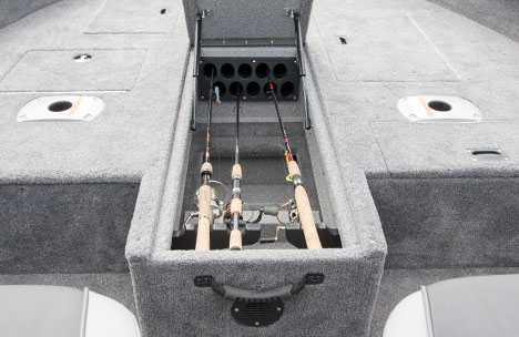 High Capacity Center Rod Locker