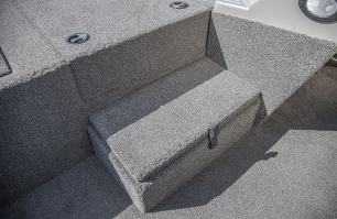 Bow Step with Storage Closed