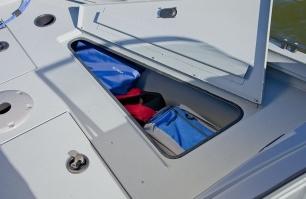 Starboard Bow Storage