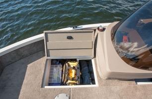 1650 Fish Hawk Bow Storage