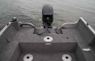 1600 Fish Hawk Stern Platform