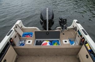 Sportfish Stern Deck Storage